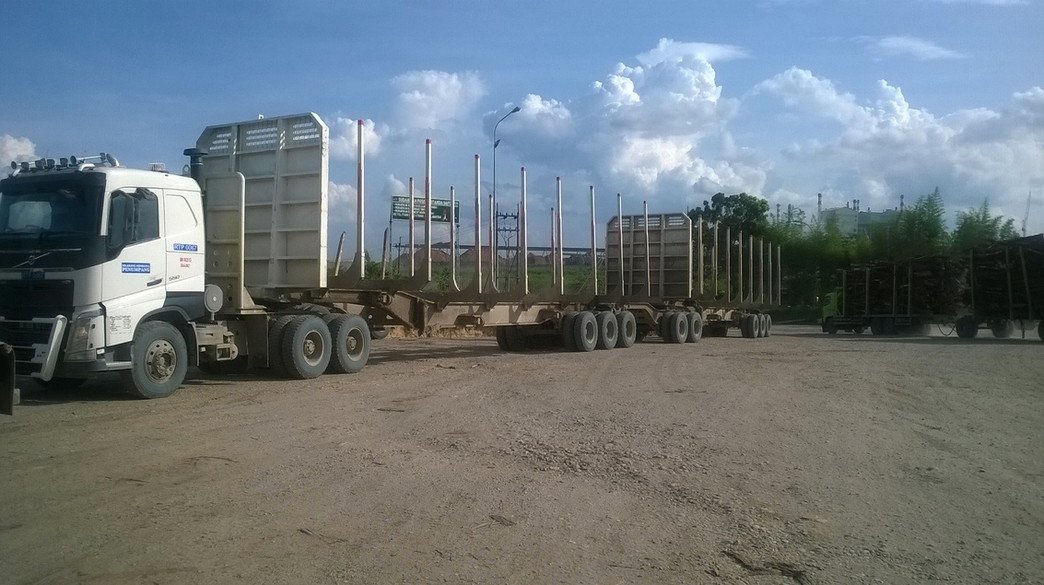 Indonesian Road train Project
