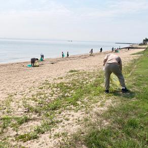 志々満海岸清掃