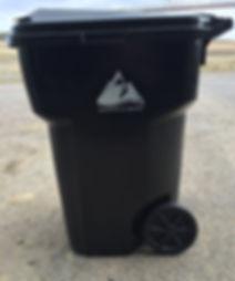 Eagle River Waste trash cart