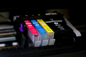 ink cartridges cyan yellow magenta blac