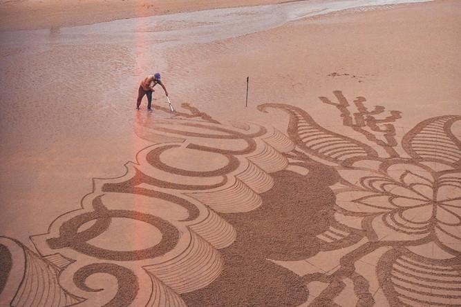 L'artiste du sable