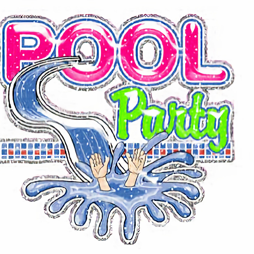 Girl Scout Birthday Pool Party