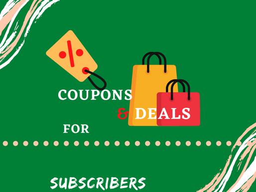 Coupons and Deals for Sint Maarten Subscribers