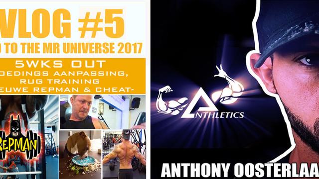 Vlog #5 - 3weeks out mr Universe 2017!!