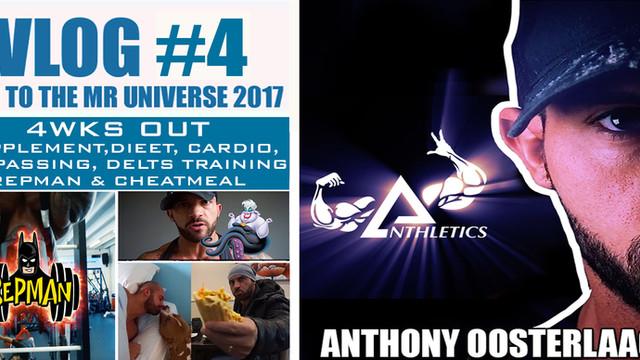 Vlog #4 - 4weeks out mr Universe 2017!!