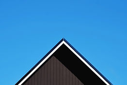 Roof Against Clear Blue Sky