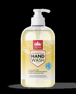 500ml Crown Antibacterial Hand Wash_Citr