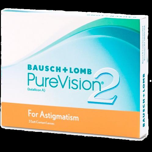 PureVision 2 HD for Astigmatism (3 lenti)