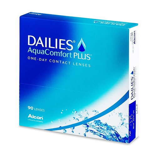 Dailies Acqua Comfort Plus (90 lenti)