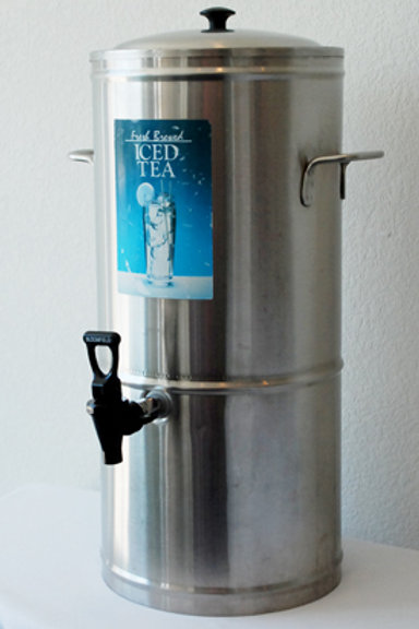 Stainless Ice Tea server