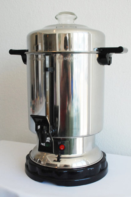 55 Cup Polished Coffee Maker