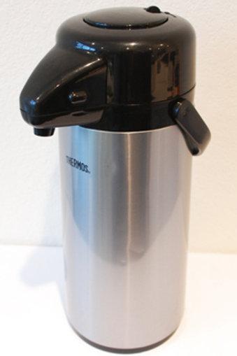 Thermal coffee push pot