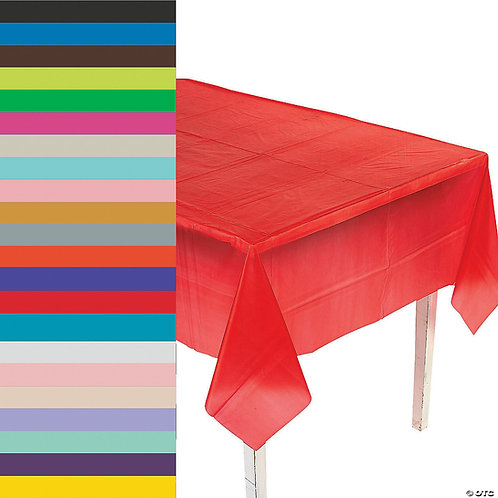 Rectangle Plastic Table Cover