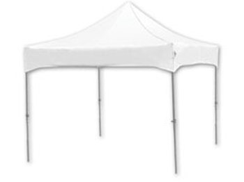 10 x 10 White Pop Up Canopy