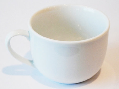 13 oz White Coffee Cup (Rented 16 to a Flat)
