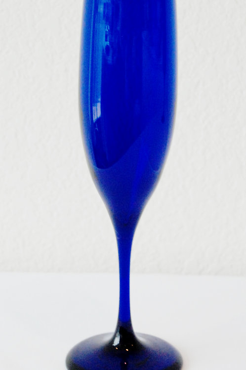 7 oz Cobalt Flute Champagne (Rented by the Doz)
