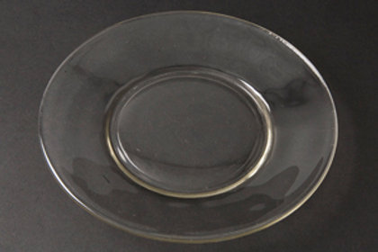 """8"""" Glass Plate (Rented by the Doz)"""