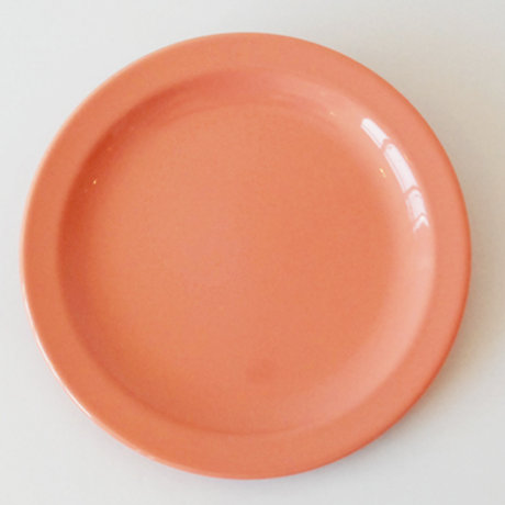 "7"" Coral Spectra Salad Plate (Rented by the Doz)"
