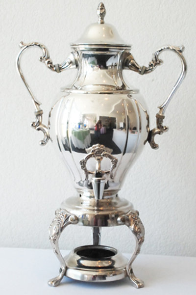 25 Cup Silver Urn