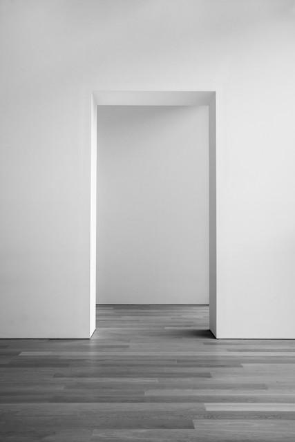 Open empty door