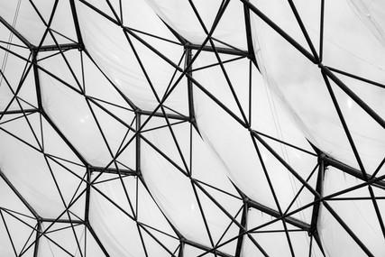 Geometric greenhouse roof