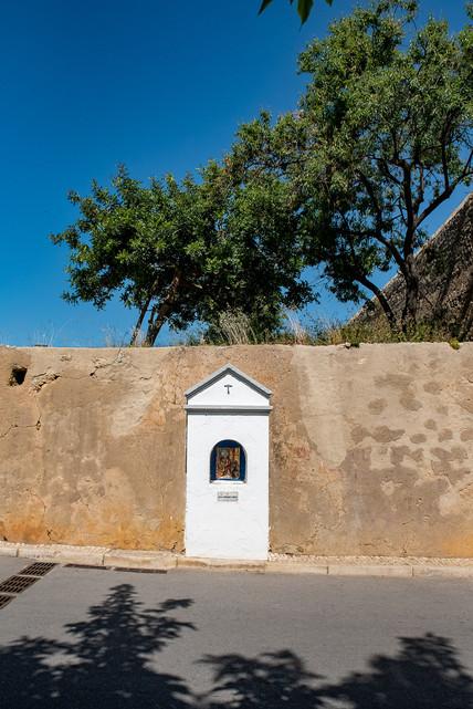 Little chapel in the wall