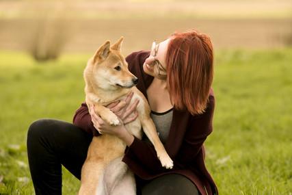 Portret van dierenliefde
