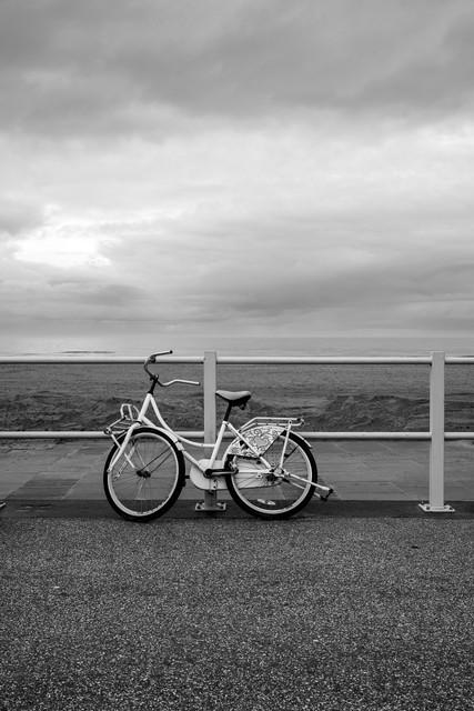 Bike on the seawall