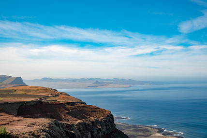 Roadtrip by the coast of Lanzarote