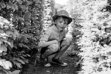 Lentefeest portret jongen