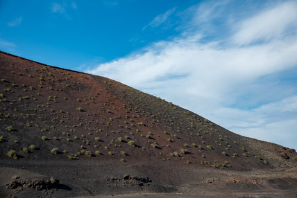 Volcanic mountain at Lanzarote