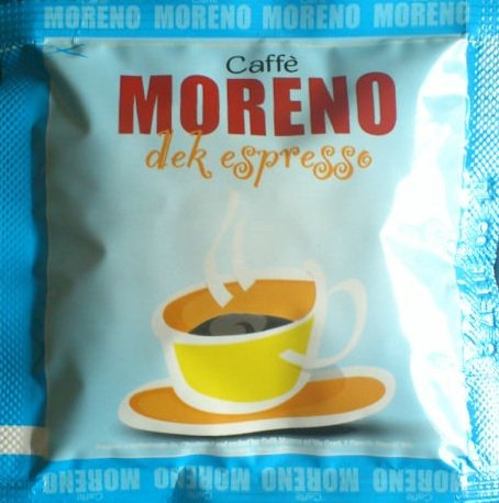 Caffè Moreno decaffeinated espresso from Naples