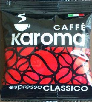 Caffè Karoma Classic Neapolitan Riviera espresso pods