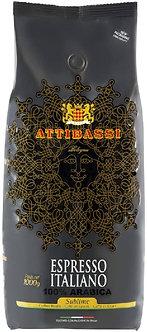 1Kg Caffè Attibassi Sublime 100% Arabica espresso beans