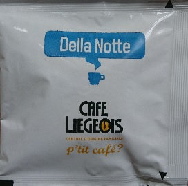 Café Liégeois Della Notte Decaffeinated ESE coffee pods