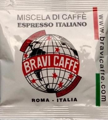Total arabica espresso from Caffè Bravi of Rome