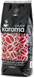 1Kg Karoma Gran Bar espresso beans by Caffè Karoma of Naples