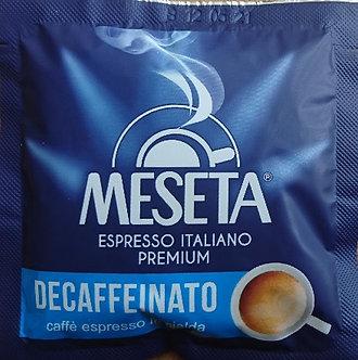 Caffè Meseta Decaffeinated ESE coffee pods