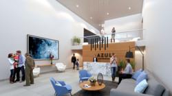Lobby Azul