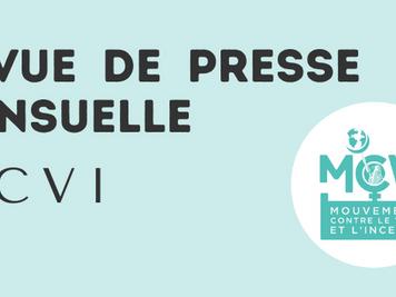 Le MCVI lance une revue de presse mensuelle