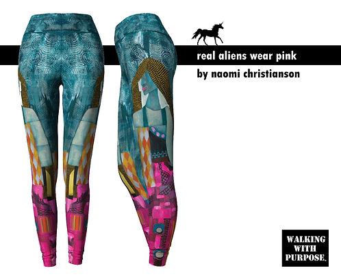 Real Aliens Wear Pink Leggings