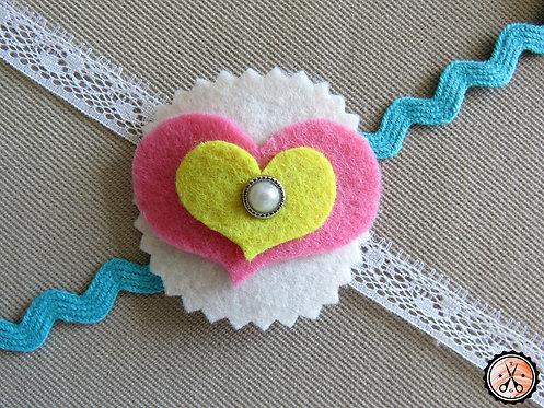 Hair Clip Heart