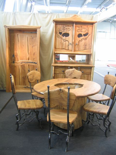 Jeff Brazier Timber Slab Furniture