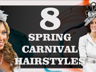 Top 8 Spring Carnival Hairstyle