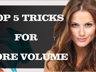 Top 5 Tricks To Get More Volume into Fine Hair