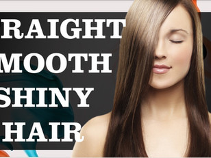Straight, Smooth and Shiny Hair