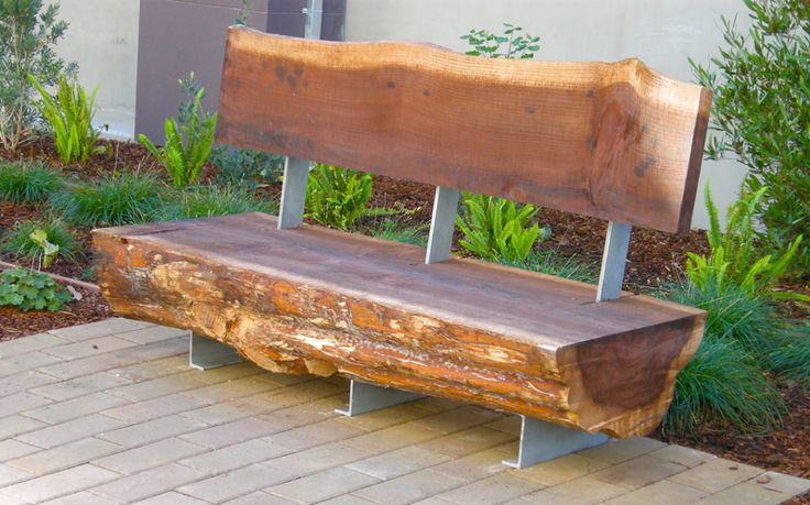 Timber Slab Garden Furniture