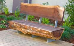 Timber Slab Garden Furniture