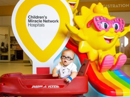 Meet Myles! Children's Miracle Network Champion for 2021 3.16.21