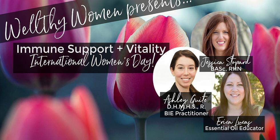International Women's Day - Immune Support & Vitality